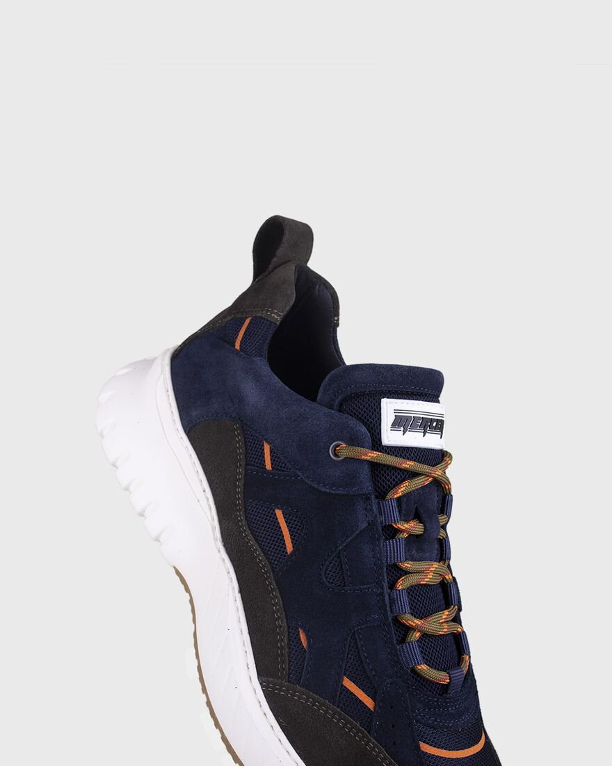 JUPITER - SUEDE - NAVY, Green, hi-res