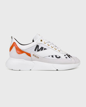 W3RD Printed Mesh Shattere White/Orange