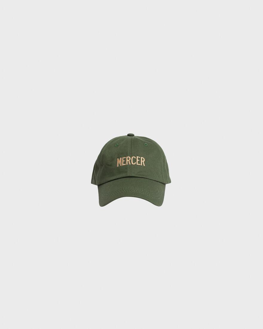 Mercer Dad Cap Premium Cotton Green, Green, hi-res