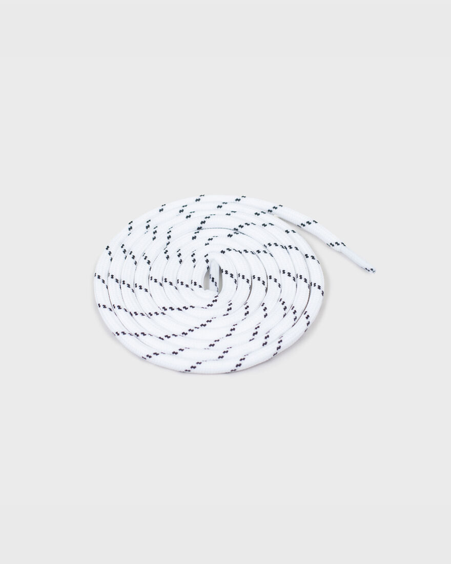 MERCER LACES - THICK ROUND - B, White/White, hi-res