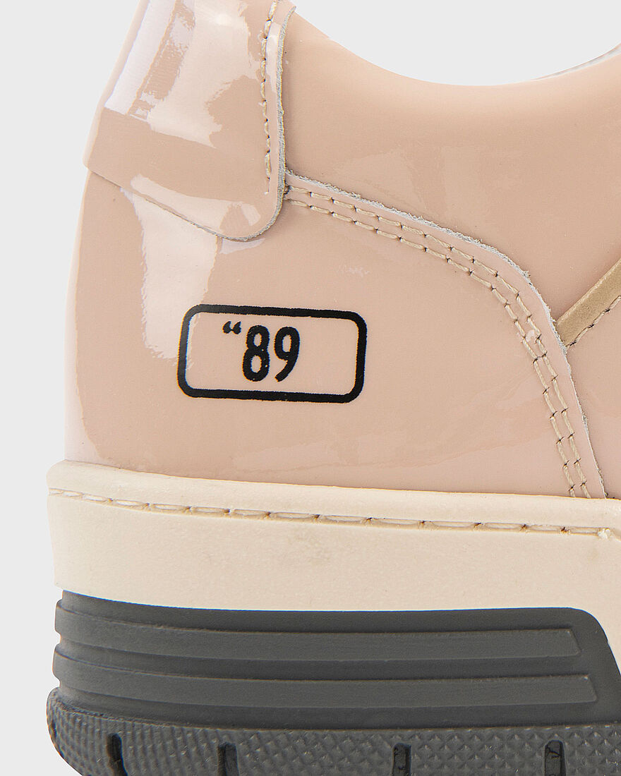 "BASKET ""89 - PATENT LEATHER - WHITE, Crème, hi-res"