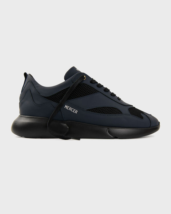 W3RD Gum Leather Navy