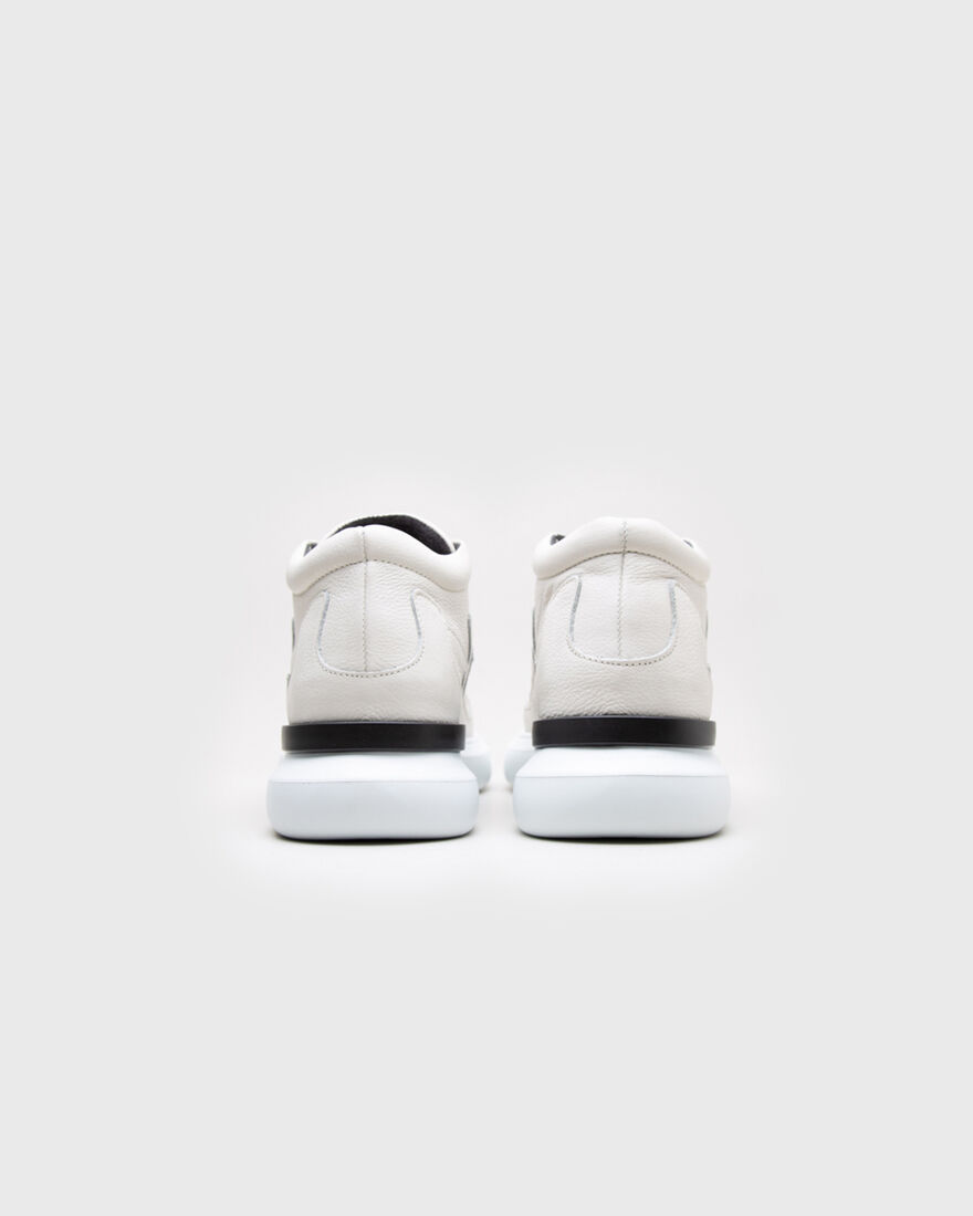 Backspin Mid - White - Nappa, White, hi-res