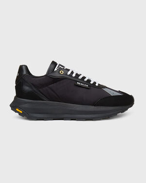 Racer Vegan Leather Triple Black