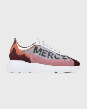 W3RD Printed Mesh White/Orange/Pink/Burgundy