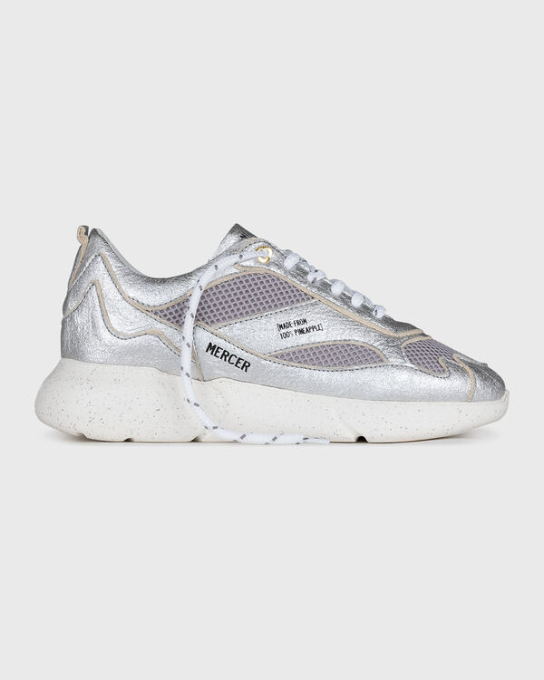 W3RD Pineapple Leather Silver