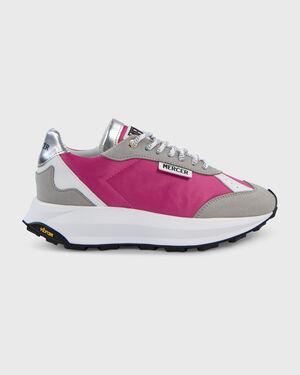 Racer Vegan Nylon Metallic Pink