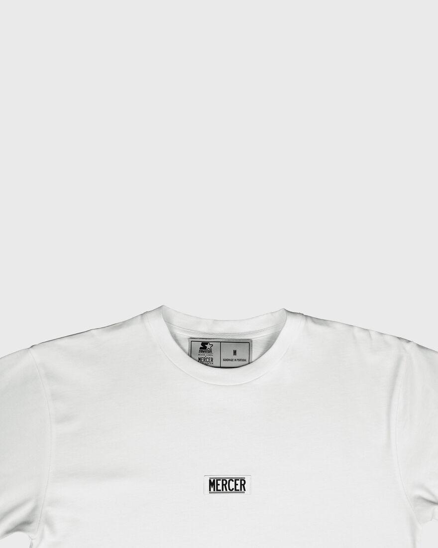MERCER TEE - PREMIUM COTTON - WHITE, White, hi-res