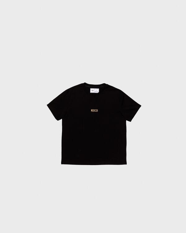 Mercer T-Shirt Premium Cotton Black